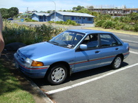 1996 Ford Laser Overview