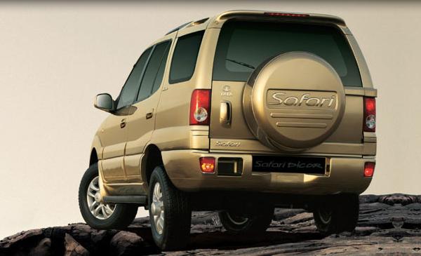 2009 Tata Safari, Back Left Quarter View, exterior, manufacturer