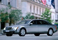 2009 Maybach 62, Front Left Quarter View, exterior, manufacturer