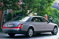 2009 Maybach 62, Back Right Quarter View, exterior, manufacturer