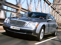 2009 Maybach 62, Front Left View, exterior, manufacturer