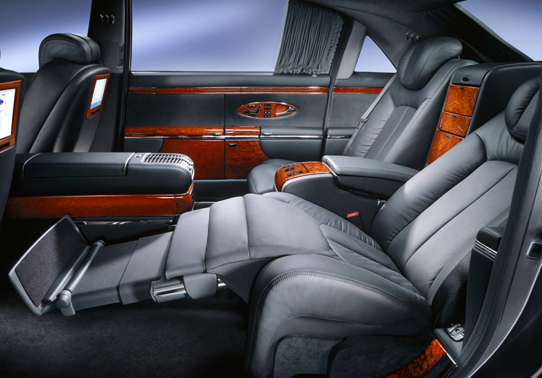2009 Maybach 62, Interior View, exterior, manufacturer