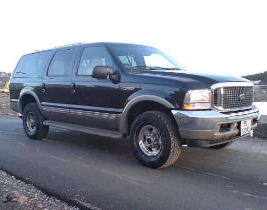 Ford Excursion Trims And Specs