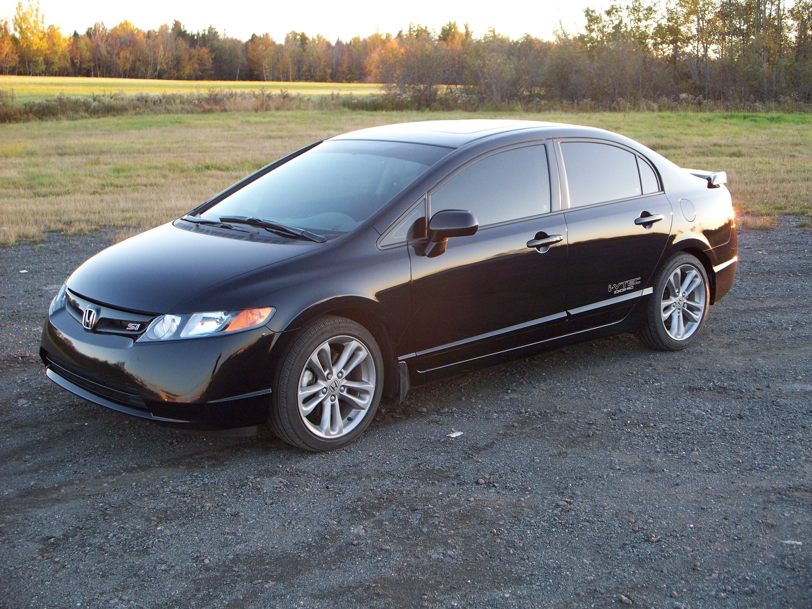 picture of 2008 honda civic si exterior. Black Bedroom Furniture Sets. Home Design Ideas