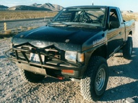 1993 Nissan King Cab 2 Dr STD 4WD Extended Cab SB picture, exterior