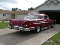 1958 Chevrolet Impala, 1958 Chevrolet Bel Air picture, exterior