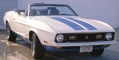1972 Ford Mustang Base Convertible picture, exterior