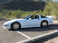 1993 Chevrolet Corvette Base, 1993 Chevrolet Corvette 2 Dr STD Hatchback picture, exterior