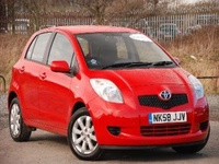 2008 Toyota Yaris Picture Gallery