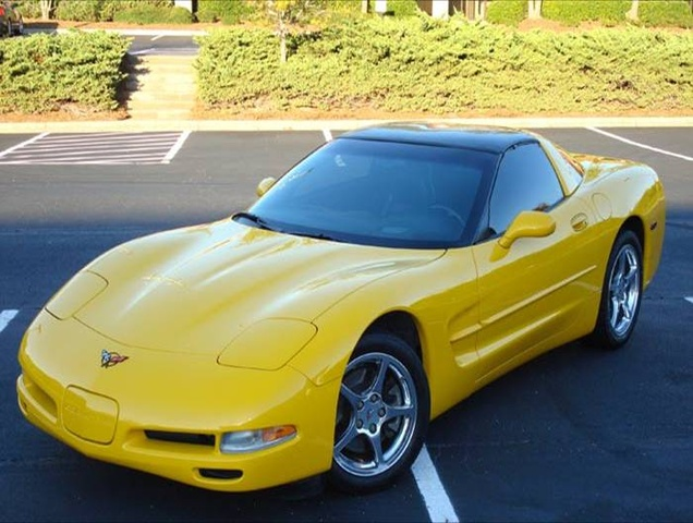 Picture of 2003 Chevrolet Corvette Coupe RWD, exterior, gallery_worthy