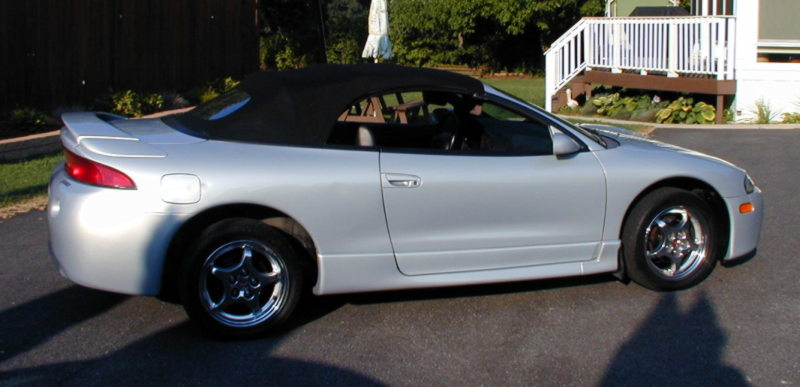 1999 Mitsubishi Eclipse Spyder 2 Dr GS-T Turbo Convertible picture, exterior