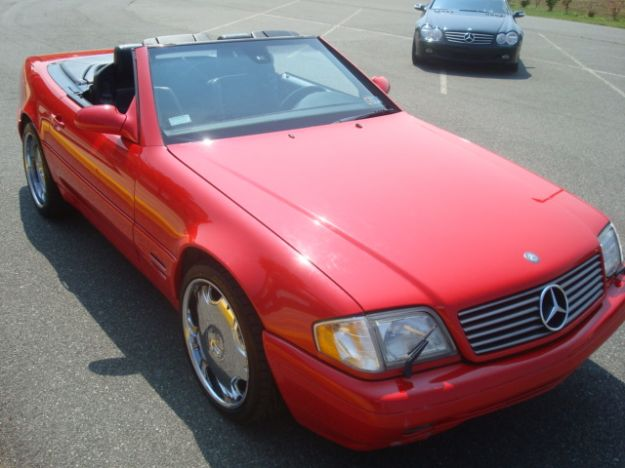 Picture of 2000 Mercedes-Benz SL-Class 2 Dr SL500 Convertible