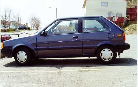 Nissan Micra Interior And Exterior. 1990 Nissan Micra picture,