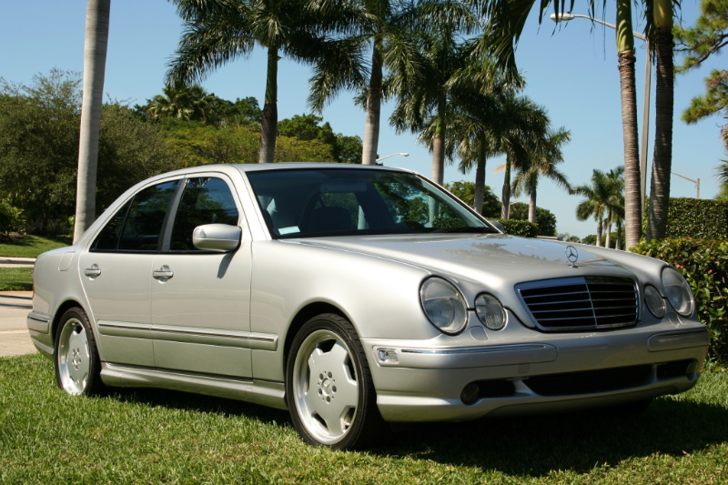 2002 Mercedes-Benz E55 AMG picture