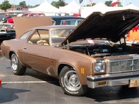 1976 Chevrolet Chevelle, my toy, engine, exterior
