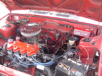 1987 Nissan Sentra picture, engine