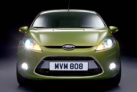 2008 Ford Fiesta, Front View, exterior, manufacturer