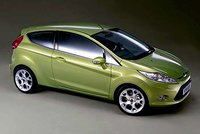 2008 Ford Fiesta, Right Side View, exterior, manufacturer, gallery_worthy