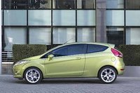 2008 Ford Fiesta, Left Side View, exterior, manufacturer, gallery_worthy