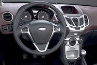 2008 Ford Fiesta, Interior View, interior, manufacturer