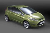 2008 Ford Fiesta, Front Right Quarter View, exterior, manufacturer, gallery_worthy