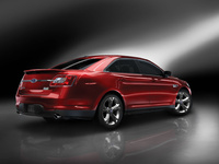 2010 Ford Taurus, Back Right View, manufacturer, exterior
