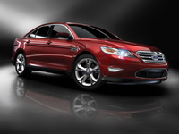 2010 Ford Taurus, Front Right Quarter View, exterior, manufacturer