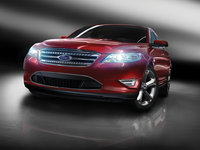 2010 Ford Taurus, Front Right View, exterior, manufacturer