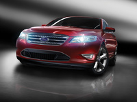 2010 Ford Taurus, Front Right View, manufacturer, exterior