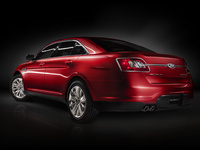 2010 Ford Taurus, Back Left Quarter View, manufacturer, exterior