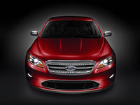 2010 Ford Taurus, Front View, exterior, manufacturer