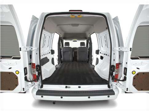 2010 Ford Transit Connect, Interior Cargo View, interior, exterior, manufacturer