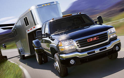 2007 GMC Sierra Classic 3500, Front View, exterior, manufacturer