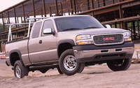 2007 GMC Sierra Classic 3500, Front Right Quarter View, manufacturer, exterior