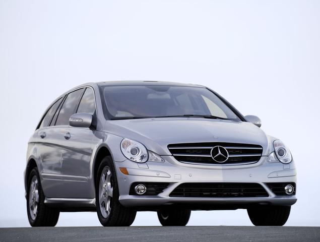2007 Mercedes-Benz R-Class R 320 CDI, Front Right Quarter View, exterior, manufacturer