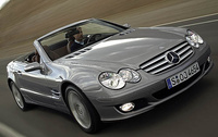2007 Mercedes-Benz SL-Class, Front Right Quarter View, manufacturer, exterior