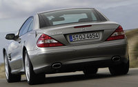 2007 Mercedes-Benz SL-Class, Back Left Quarter View, exterior, manufacturer