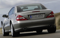 2007 Mercedes-Benz SL-Class, Back Left Quarter View, manufacturer, exterior