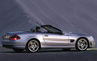 2007 Mercedes-Benz SL-Class, Right Side View, exterior, manufacturer