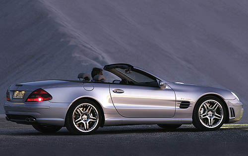 2007 Mercedes-Benz SL-Class, Right Side View, manufacturer, exterior