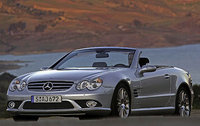 2007 Mercedes-Benz SL-Class, Front Left Quarter View, exterior, manufacturer