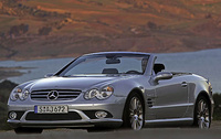 2007 Mercedes-Benz SL-Class, Front Left Quarter View, manufacturer, exterior
