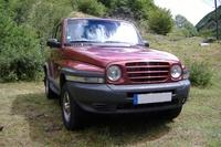 2001 Daewoo Korando Overview