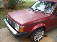 1988 Plymouth Horizon, Old Faithful is Here. Thank You Lord., exterior, gallery_worthy
