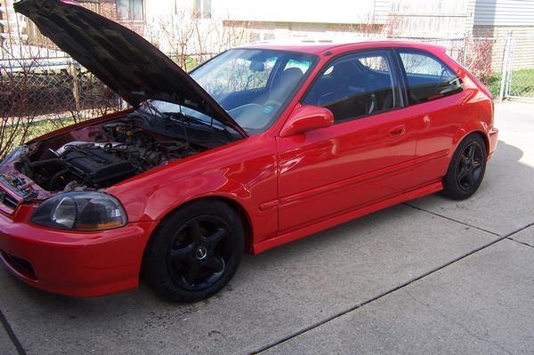 Picture of 1997 Honda Civic DX Hatchback, exterior