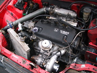 Picture of 1991 Honda Civic CRX CRX Si, engine