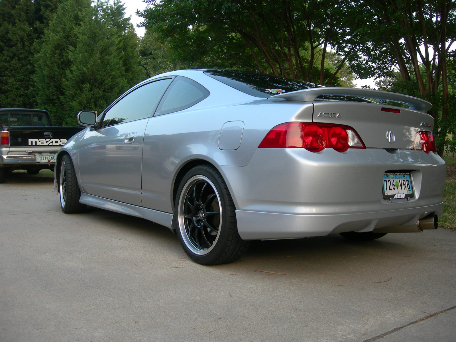 2002 acura rsx type s picture exterior. Black Bedroom Furniture Sets. Home Design Ideas