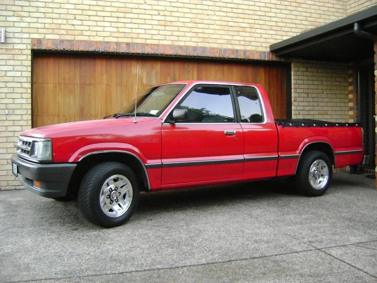 Picture Of 1989 Mazda B2000 Exterior