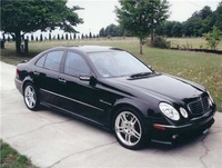 2004 Mercedes-Benz E-Class E55 AMG, 2004 Mercedes-Benz E55 AMG 4 Dr Supercharged Sedan picture, exterior
