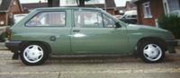 1984 Vauxhall Nova Overview